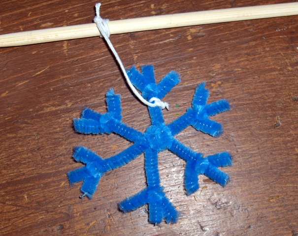 Image result for snowflake on string with pencil