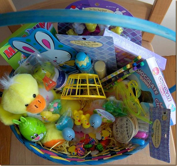 Put Together A Fantastic Easter Basket For Kids At