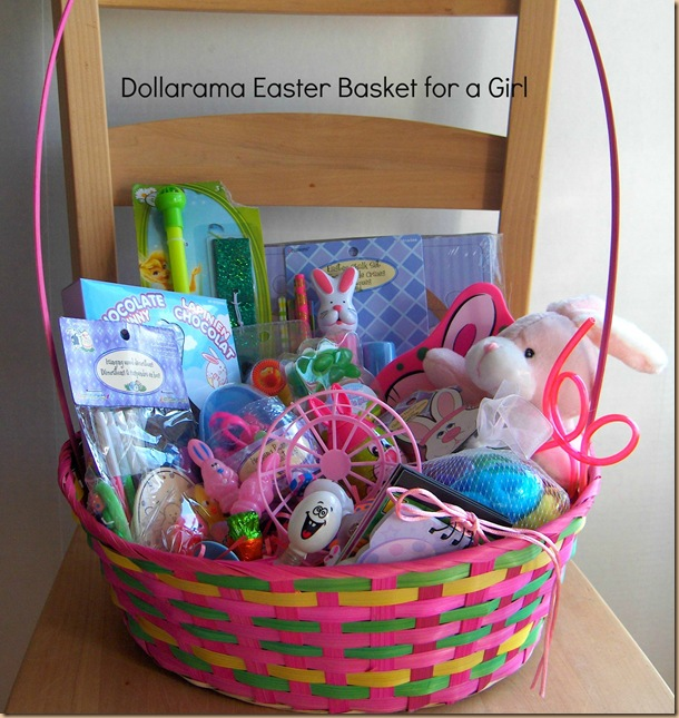 Put Together A Fantastic Easter Basket For Kids At